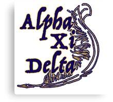 Alpha Xi Canvas Print
