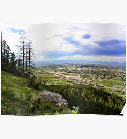 Flathead Valley Overlook Poster