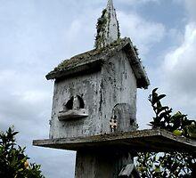 """BIRD HOUSE OF WORSHIP"" by waddleudo"