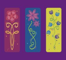 flower panels, colour by sabrina card