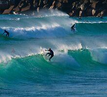 Duranbah Surfers - 8 August 2009 by Odille Esmonde-Morgan