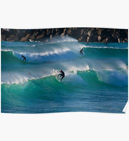 Duranbah Surfers - 8 August 2009 Poster