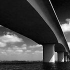 Bridge, Sarasota by Frank Bibbins