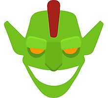 Goblin lvl 5 from clash of clans Photographic Print