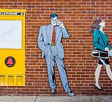 Superman (Clark Kent) in Metropolis, Illinois by Robert Kelch, M.D.
