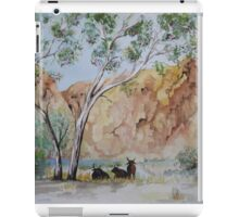 Afternoon Shade Watercolour Painting  iPad Case/Skin