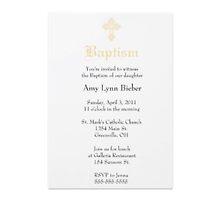 Baptism invitations by GARRY Ek