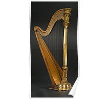 Antique Harp -1900's Era Wurlitzer Harp Poster