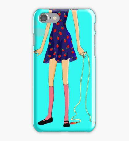 Lolita smoker iPhone Case/Skin