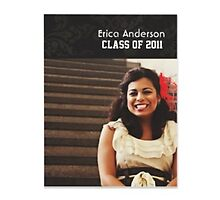 College graduation invitations by Buford Burows