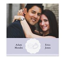 Engagement party invitations by Buford Burows