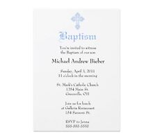 Baptism invites by john mark waters
