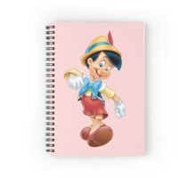 Pinocchio Spiral Notebook