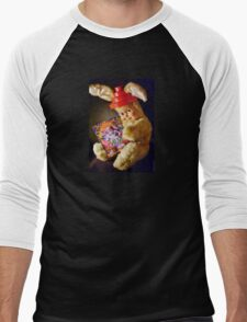 Booji Bunny Men's Baseball ¾ T-Shirt