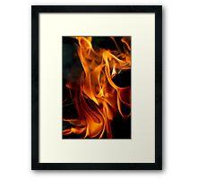 Campfire 3 Framed Print