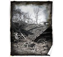 Fallen Roofs Poster