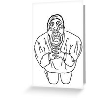 Sorry Man Greeting Card