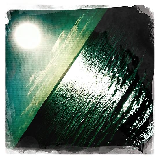 Hipsta Gradient Series- Sunset ripple effects No.2 by LJ_©BlaKbird Photography