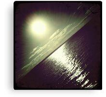 hipsta Gradient Series- Sunset ripple effects No.3 Canvas Print