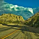 Painted Canyon 2, Riverside County, California USA by Bryan D. Spellman