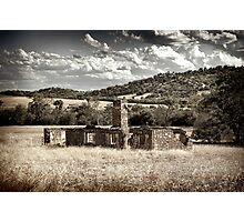 Homestead Ruins - Wheatbelt Photographic Print