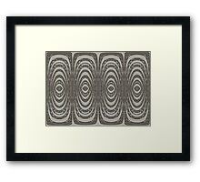 Tribal Abstract Framed Print