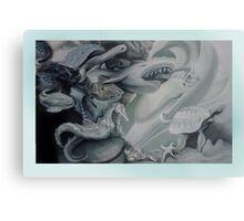 Aquatic Fantasia. Metal Print