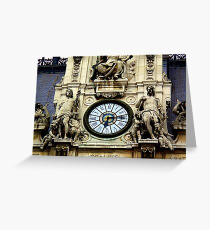 Historic Times Greeting Card