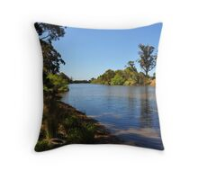 The Snowy River Throw Pillow