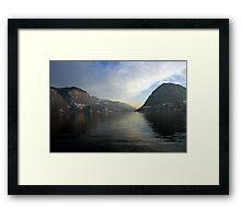 Lugano Framed Print