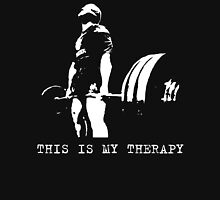 This Is My Therapy - Gym Motivation - Deadlift T-Shirt
