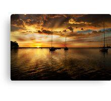 Macquarie sunrise Canvas Print