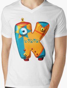 "The letter ""Kappa"" Mens V-Neck T-Shirt"