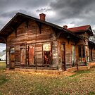 The Depot at Kopperl, Texas (Bosque County) by Terence Russell