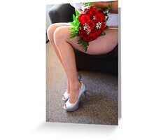Inspired, fulfilled and Joyfully  living Greeting Card