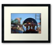 3 in 5 SnowGlobe Framed Print