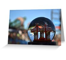 3 in 5 SnowGlobe Greeting Card