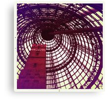 Fancy Spiral Dome Canvas Print