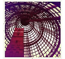 Fancy Spiral Dome Photographic Print