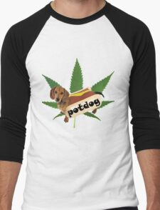 Potdog Men's Baseball ¾ T-Shirt
