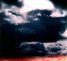 Blue sky Red sea - Denmark by Barnewitz