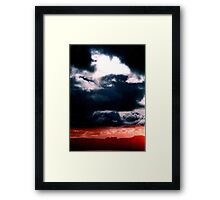 Blue sky Red sea - Denmark Framed Print