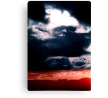 Blue sky Red sea - Denmark Canvas Print