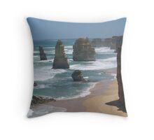 Twelve Apostles, Great Ocean Road Throw Pillow