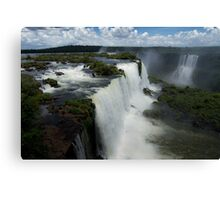 Iguazu Falls, Brazilian side Canvas Print