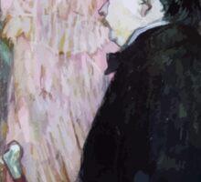 Henri de Toulouse Lautrec Sticker
