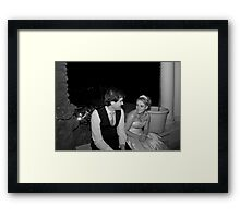 A Moment of Your Time Framed Print