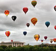 Canberra Festival Balloon Spectacular by Anthony Caffery