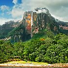 Angel Falls, Venezuela by Clint Burkinshaw