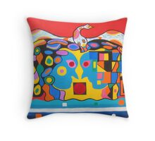 Conflict Resolution. Throw Pillow
